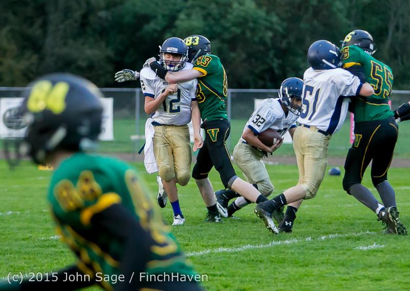 8833 JV Football v West-Seattle 110215