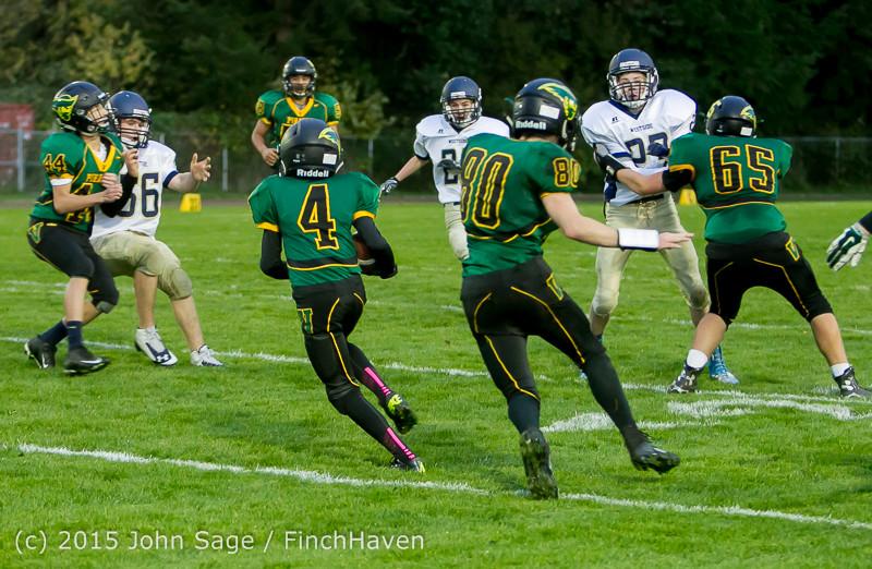 9560 JV Football v West-Seattle 110215