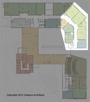 00003 Vashon Island High School First Floor Set three