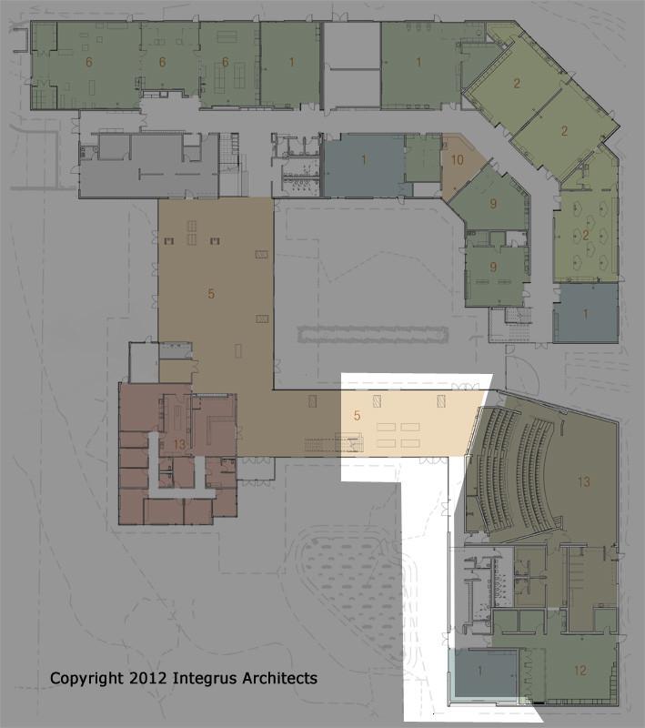 00004 Vashon Island High School First Floor Set four