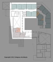 00004 Vashon Island High School Second Floor Set four