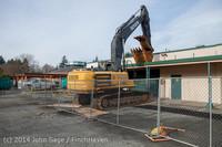 0375 B Bldg Demolition Day one 01152014