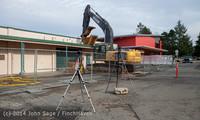 0377 B Bldg Demolition Day one 01152014