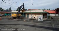 0379 B Bldg Demolition Day one 01152014