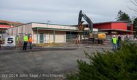0389 B Bldg Demolition Day one 01152014