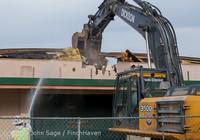 0412 B Bldg Demolition Day one 01152014