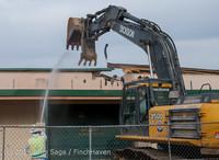0416 B Bldg Demolition Day one 01152014