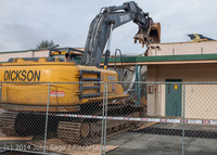 0458 B Bldg Demolition Day one 01152014