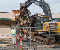 0485 B Bldg Demolition Day one 01152014
