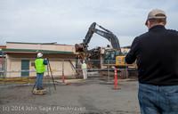0489 B Bldg Demolition Day one 01152014