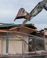 0505 B Bldg Demolition Day one 01152014