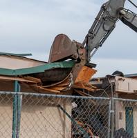 0509 B Bldg Demolition Day one 01152014
