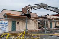 0526 B Bldg Demolition Day one 01152014
