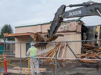 0557 B Bldg Demolition Day one 01152014