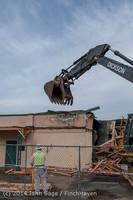 0575 B Bldg Demolition Day one 01152014