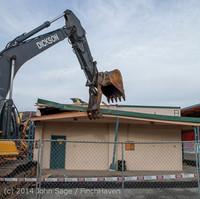 0601 B Bldg Demolition Day one 01152014
