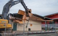 0618 B Bldg Demolition Day one 01152014