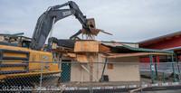 0622 B Bldg Demolition Day one 01152014