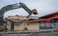 0625 B Bldg Demolition Day one 01152014