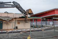 0627 B Bldg Demolition Day one 01152014