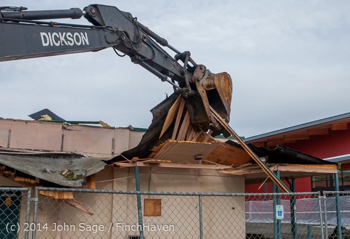 0636 B Bldg Demolition Day one 01152014