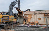 0658 B Bldg Demolition Day one 01152014