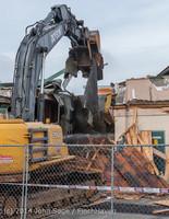 0661 B Bldg Demolition Day one 01152014