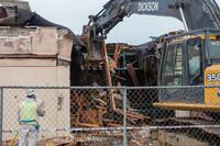 0664 B Bldg Demolition Day one 01152014