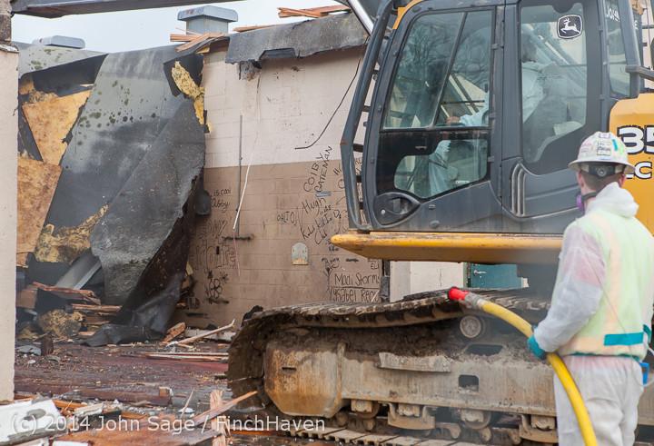 0775 B Bldg Demolition Day one 01152014