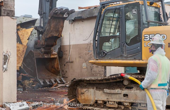 0779 B Bldg Demolition Day one 01152014