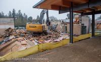 1141 B Bldg Demolition Day two 01162014