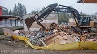 1145 B Bldg Demolition Day two 01162014