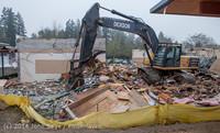 1149 B Bldg Demolition Day two 01162014