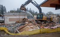 1156 B Bldg Demolition Day two 01162014