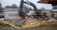 1163 B Bldg Demolition Day two 01162014