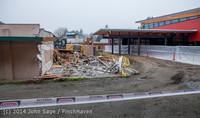 1175 B Bldg Demolition Day two 01162014