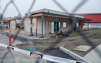 1182 B Bldg Demolition Day two 01162014