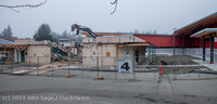 1189 B Bldg Demolition Day two 01162014