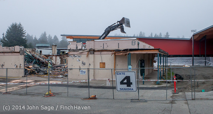 1194 B Bldg Demolition Day two 01162014