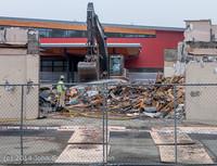 1210 B Bldg Demolition Day two 01162014