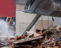1276-b B Bldg Demolition Day two 01162014