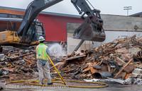 1276 B Bldg Demolition Day two 01162014