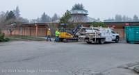 1285 B Bldg Demolition Day two 01162014