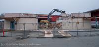 1290 B Bldg Demolition Day two 01162014