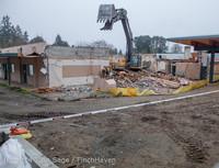 1309 B Bldg Demolition Day two 01162014