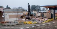1313 B Bldg Demolition Day two 01162014