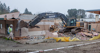 1325 B Bldg Demolition Day two 01162014