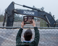 1343 B Bldg Demolition Day two 01162014
