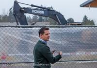 1354 B Bldg Demolition Day two 01162014