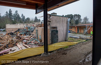 1365 B Bldg Demolition Day two 01162014